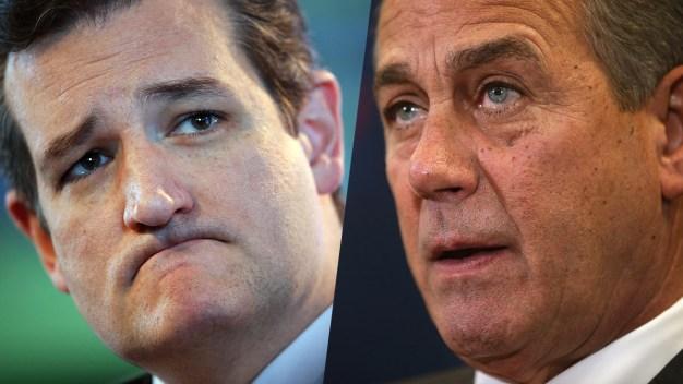 The Rocky History Between Cruz and Boehner