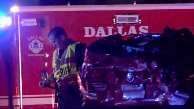 SB Stemmons Reopens After Fatal Crash
