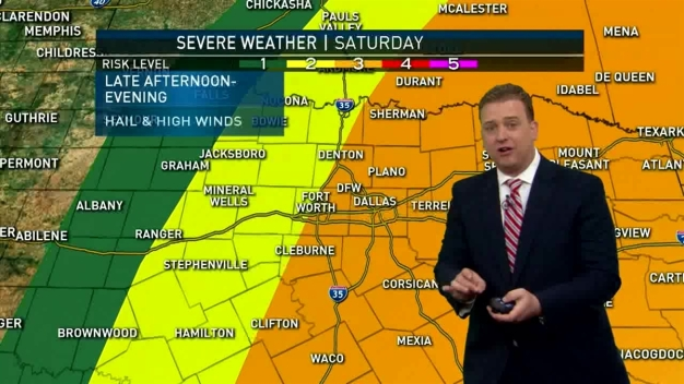 Severe Storms Possible in Next 48 Hours
