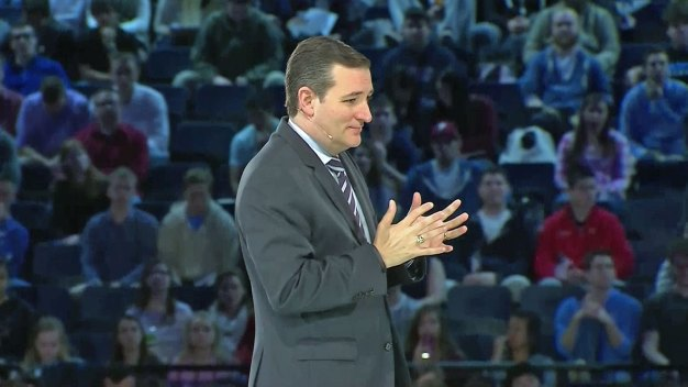 Sen. Ted Cruz Speaks at Liberty University