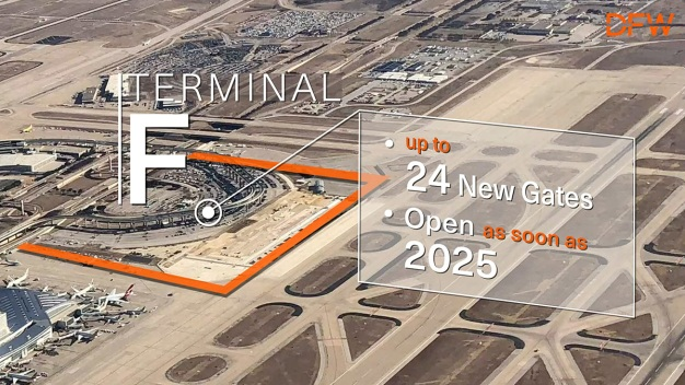DFW, American Airlines Announce Plans for $3.5B Terminal F