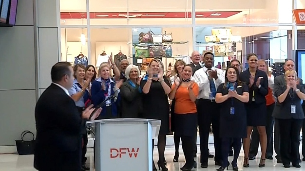 D/FW Airport Officials Unveil Newly Renovated Terminal E