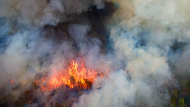 Wildfire Concerns Spread Through North Texas