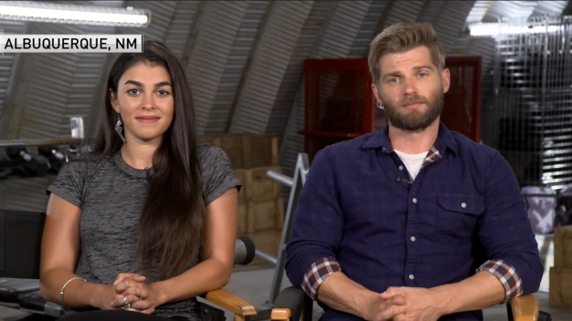 'The Brave' Actors Talk Show's Premier