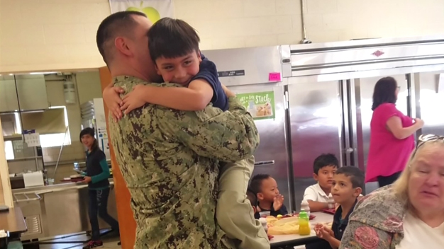 Something Good: Military Dad Reunion