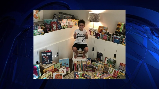 Something Good: Boy, 7, Starts Book Drive