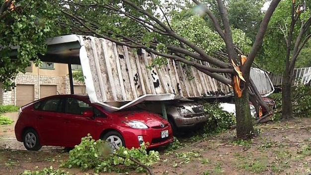Two Tornadoes Strike Dallas County Sunday: NWS