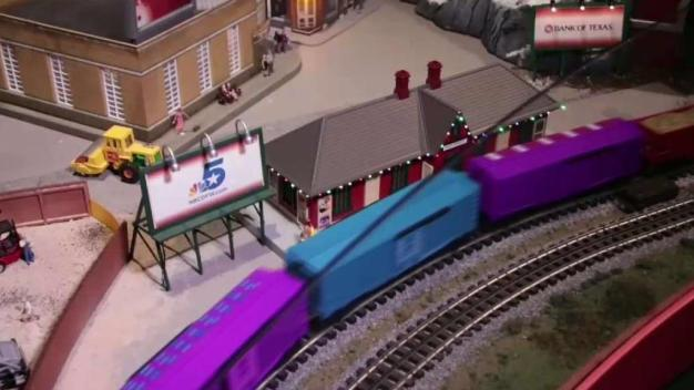 Trains at Northpark Opens for 2017 Season