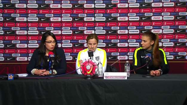 U.S. Women's National Teams Speaks Soccer, Zika