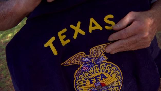 North TX Farmer Surprised With FFA Jacket 66 Years Later