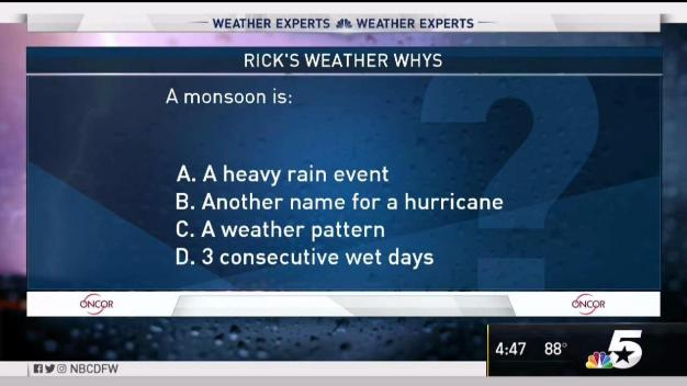 Weather Quiz: What is a Monsoon?