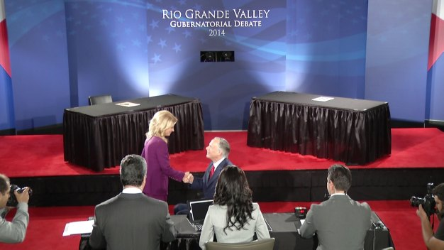 Abbott, Davis Debate in the Rio Grande Valley