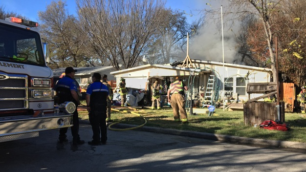 Man Critically Injured in White Settlement House Fire