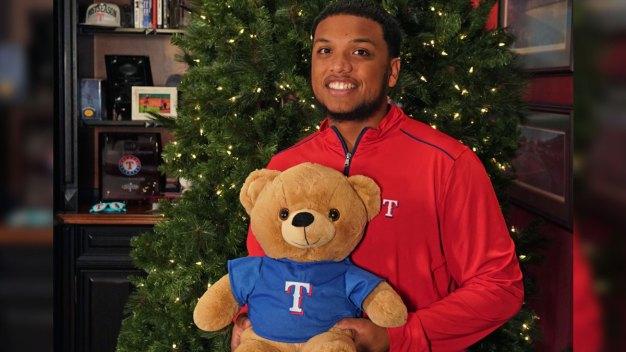 Texas Rangers Kick-Off 9th Annual Toy Drive Dec. 1