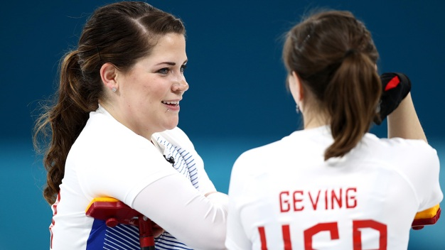 USA Women's Curling Faces Korea to Keep Semifinal Hope Alive