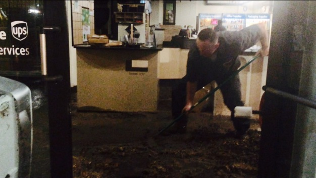 Water Line Break Makes Big Mess in Dallas