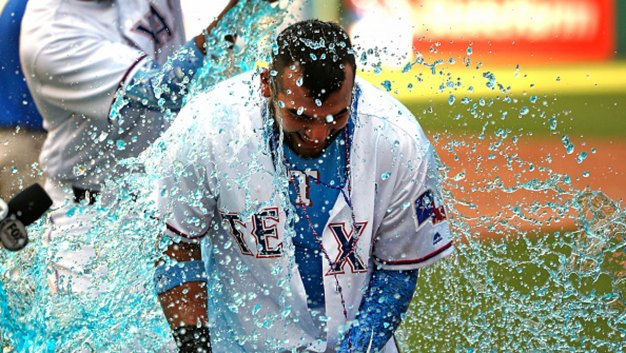 Trevino, Rangers Rally for 4 Runs in 9th to Beat Rockies