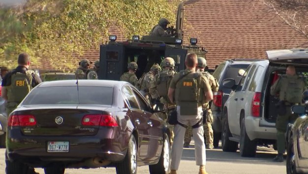 Area Near Suspect's Home Evacuated; Family to Give Statement
