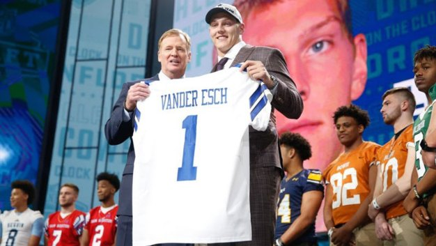 Cowboys Take Vander Esch in Draft; Baker Mayfield Goes No. 1