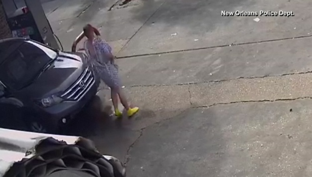 Man in Hospital Gown Steals Vehicle