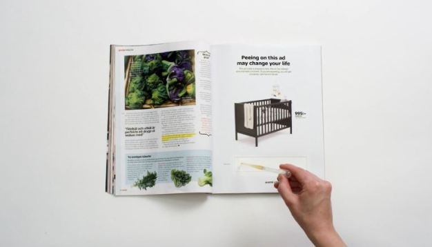 New IKEA Print Ad Urges Customers to Pee On It