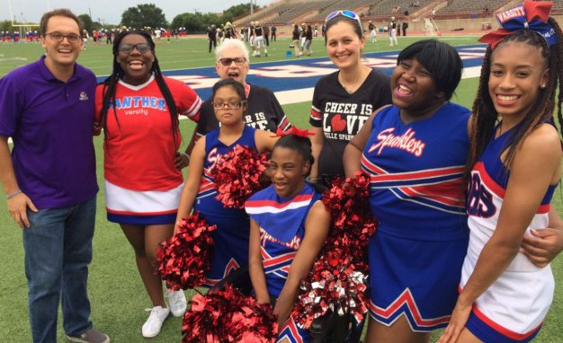Meet the 'Sparklers' Duncanville Cheerleaders