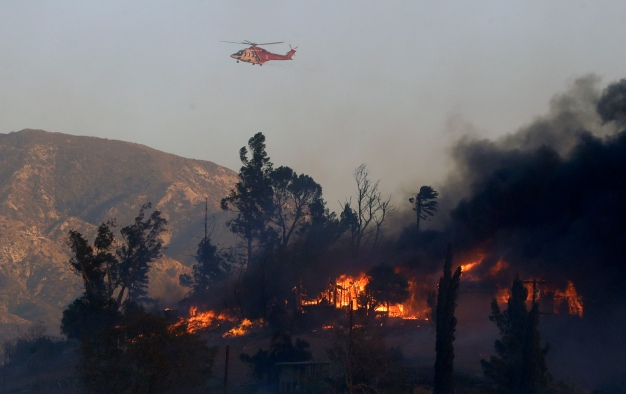 For the 1st Time, LAFD to Deploy Drones in Firefight