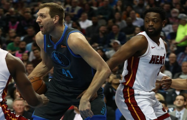 Wade, Nowitzki Share Eventful History as Honorary All-Stars