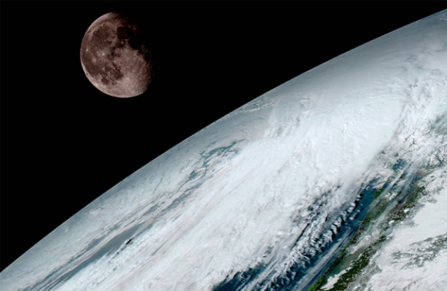 Striking First Images Released from New Weather Satellite