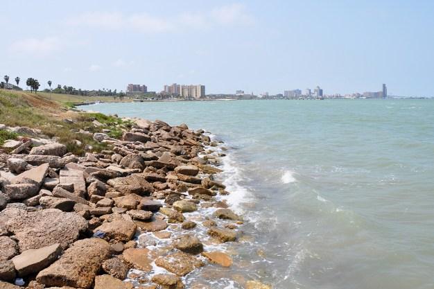 Major Work Done on Shoreline Boulevard in Corpus Christi
