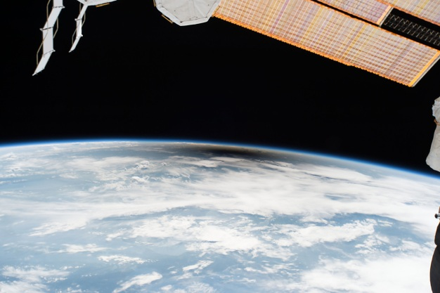 Eclipse From Space: See the Moon's Shadow Race Across Earth