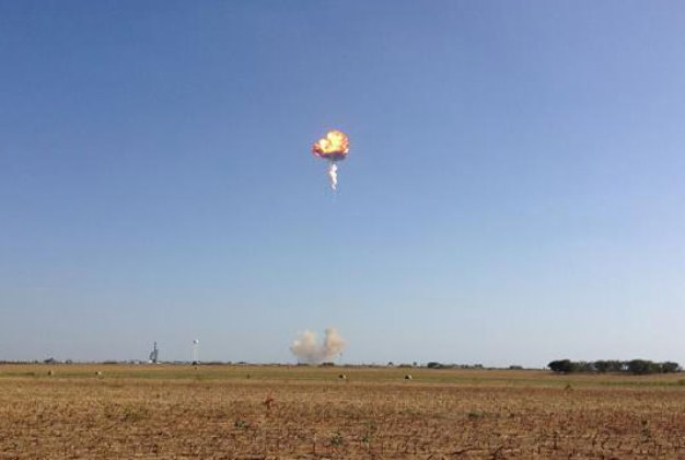 Rocket Explodes During Test Flight in TX; No Injuries