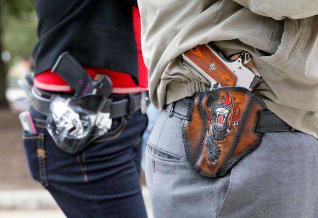 Court Backs Texas Activist Who Challenged County Gun Ban