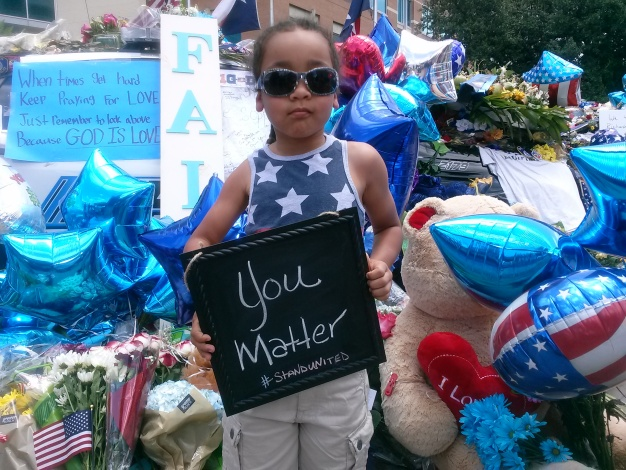 North Texas Shows Support for Police