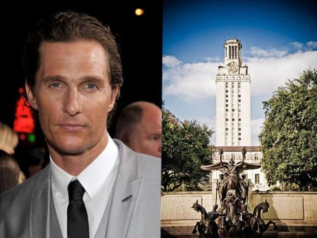 Matthew McConaughey to Teach at UT Austin