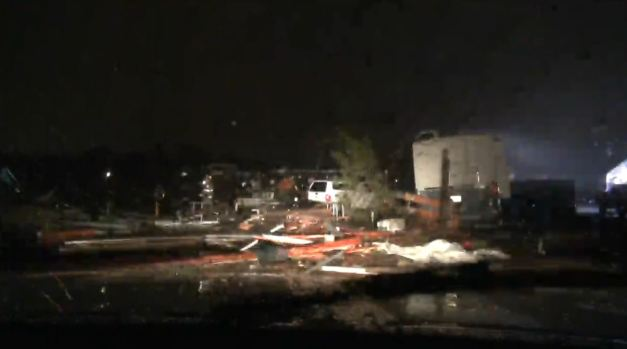 Tornadoes, Flooding Strike Oklahoma City