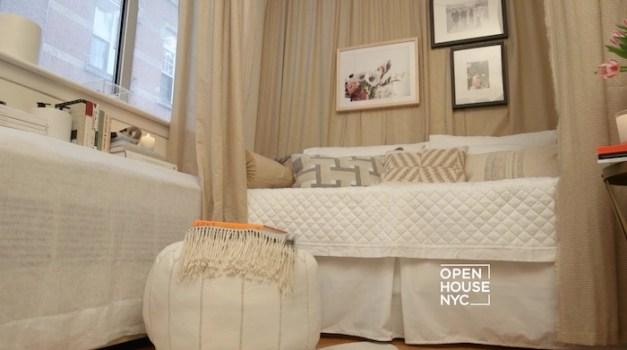 Megan Pflug Designs a Tiny Rental Bedroom