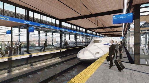 Texas High-Speed Train Is 'Shovel Ready'