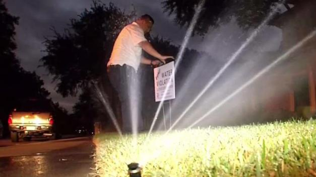 Dallas Code Enforcement Cracks Down on Water Wasters