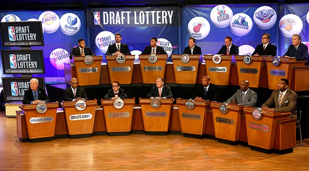 Mavs to Draft 9th Overall; Boston Celtics Win NBA Lottery
