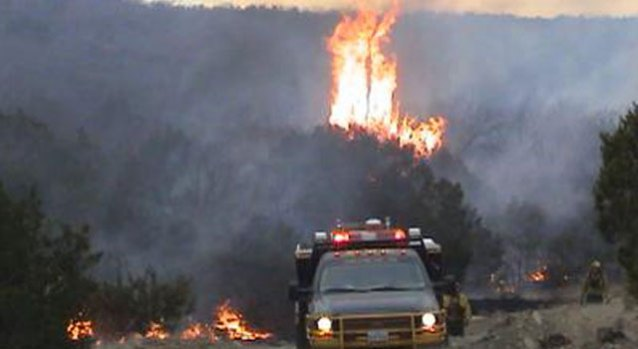 Wildfires Rage in North Texas