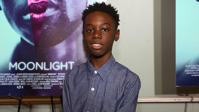 Young 'Moonlight' Star Ready for 89th Annual Academy Awards