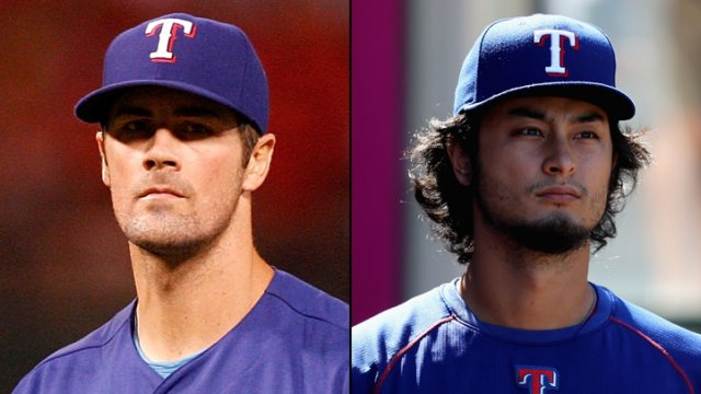 With Texas Close to AL West Title, Hamels and Yu Can Tune Up