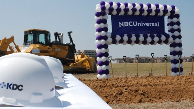 NBC 5 Groundbreaking