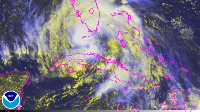 Tropical Storm Isaac in Photos