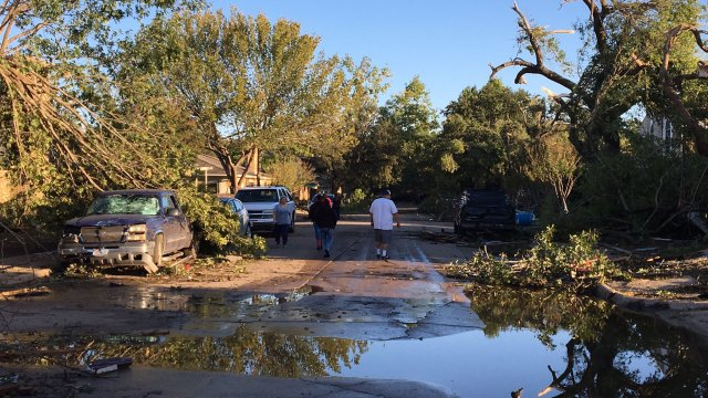 Overnight Storms Cause Road Closures, Damage Across North TX