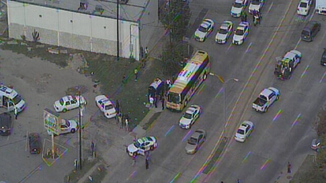 One Person Shot on DART Bus in Dallas