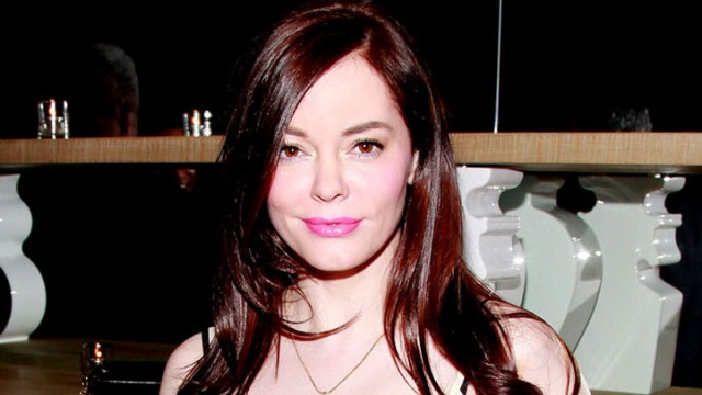 Inside Rose McGowan's Dramatic New Crib