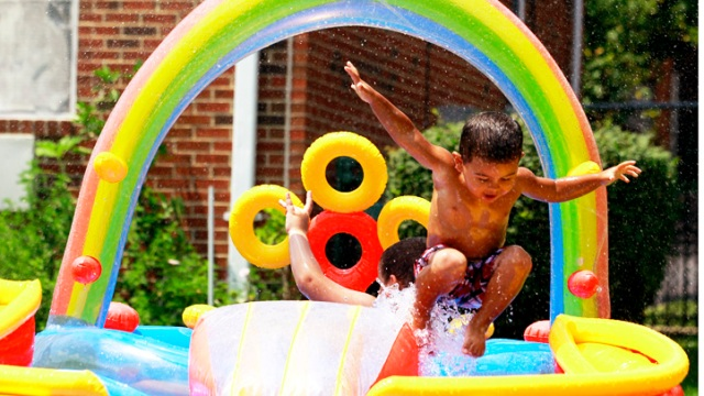 Photos: Heat Wave Scorches East, Mid-West
