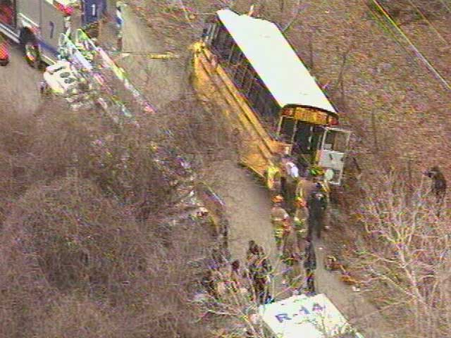 Special Needs School Bus Crash